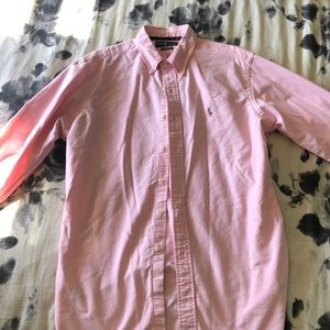 Ralph Lauren Long Sleeve Button Up Sz Large